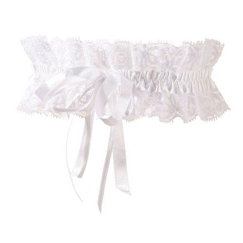 SnS-24601062101-Witte kousenband met witte strikjes